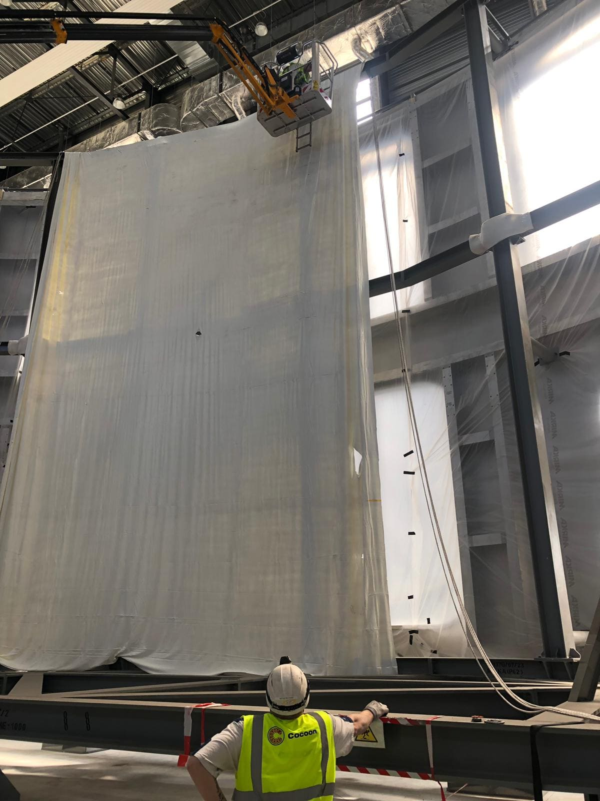 Cocoon mothballing project iter